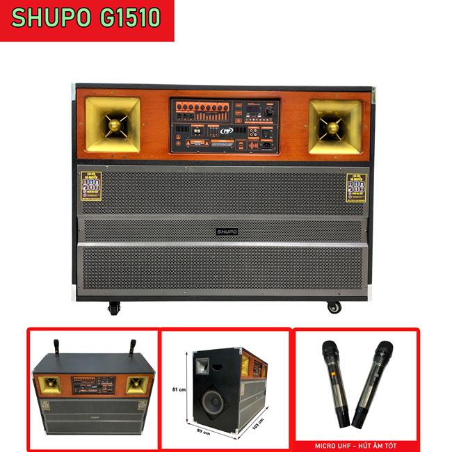 loa kéo cao cấp công suất lớn Shupo G1510